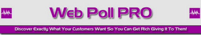 Thumbnail *NEW* Web Poll Pro With Resell Rights