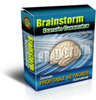 Thumbnail  Brainstorm Domain Generator Software- PLR Included