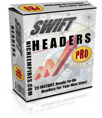 Product picture Swift Headers Pro With MRR ! 25 Instant Headers