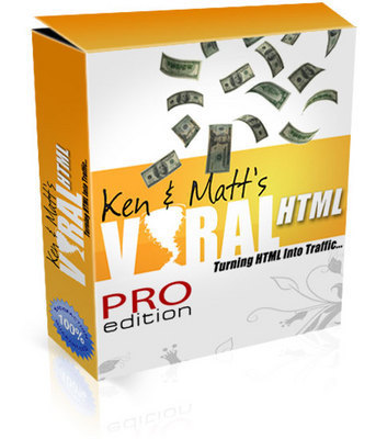 Product picture Viral HTML Software With Full Source Code & PLR