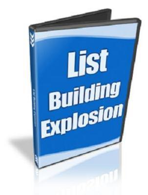 Product picture List Building Explosion MRR!
