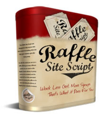 Product picture Raffle Site Script - PHP File