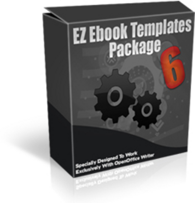 Product picture EZ eBook Template Package 6