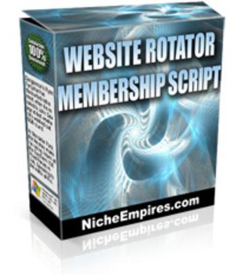 Product picture Website Rotator Membership Script MRR!