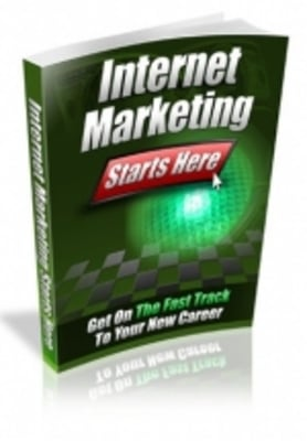 Product picture Internet Marketing Starts Here