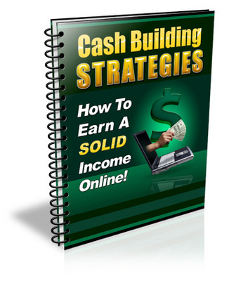 Product picture Cash Building Strategies With PLR