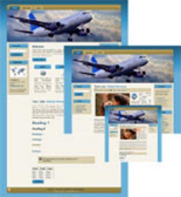 Product picture Travel Wordpress Theme - Taking Flight