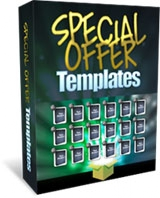 Product picture Special Offer Templates