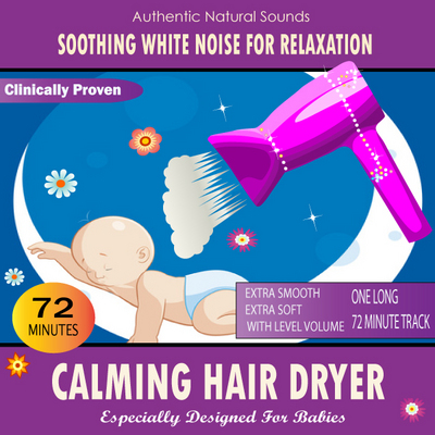 Product picture Calming Hair Dryer for Babies