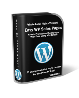 Product picture Easy WP Sales Pages with MRR
