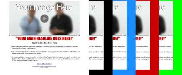 Product picture Teaser Opt In Pages with Private Label Rights