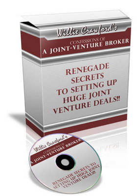 Product picture Confessions Of A Joint Venture Broker Audiobook with MRR