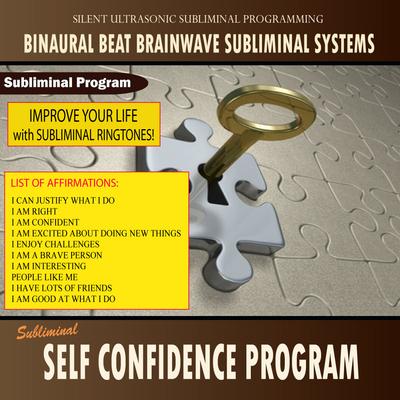 Product picture Self Confidence Program - Subliminal Messages Ringtone