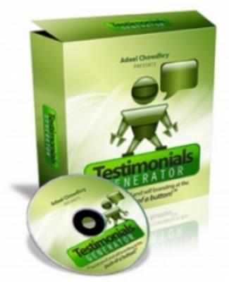 Product picture Testimonials Generator
