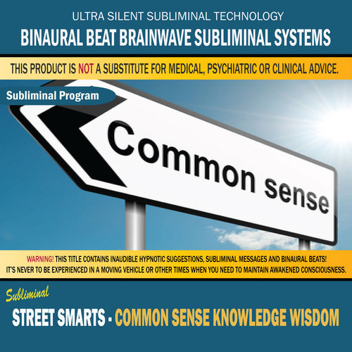 Product picture Street Smarts - Common Sense Knowledge Wisdom